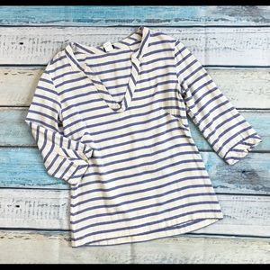 J. Crew cotton striped top